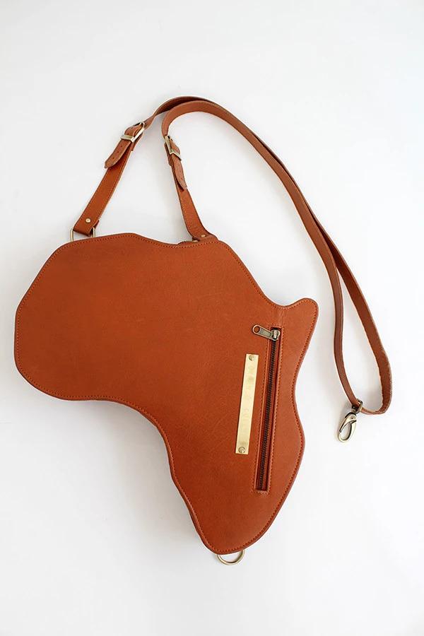 Orijin Culture- Alkebulan (Africa) Leather Bag / Backpack