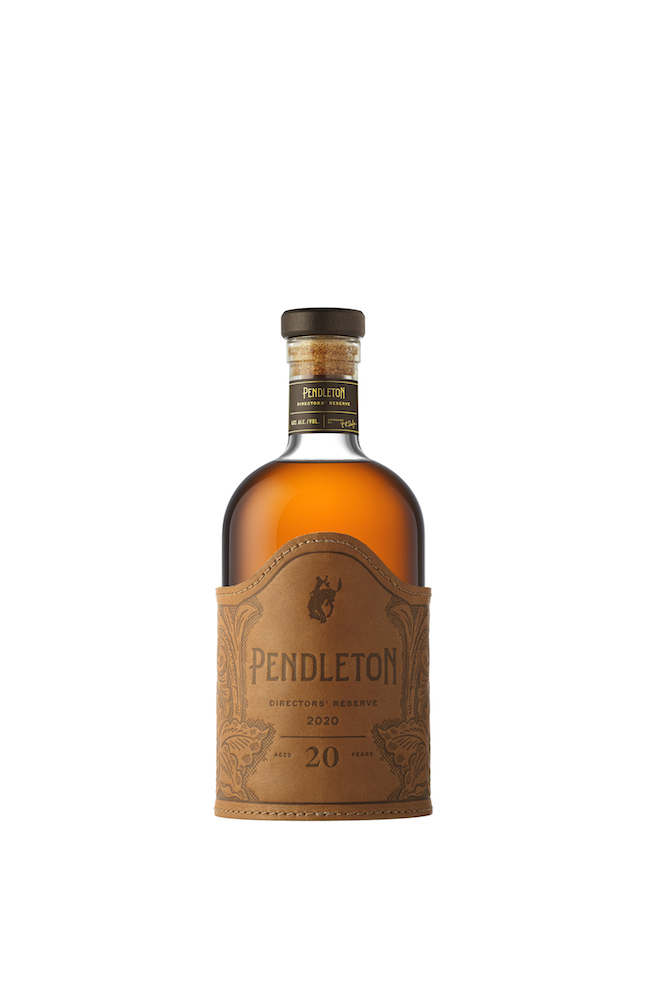 Pendleton Whisky Original, 1910 and Directors' Reserve.