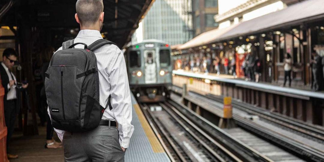 The KeySmart Urban21 Commuter Backpack