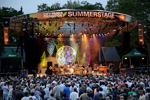 The City Parks Foundation SummerStage Concert Series
