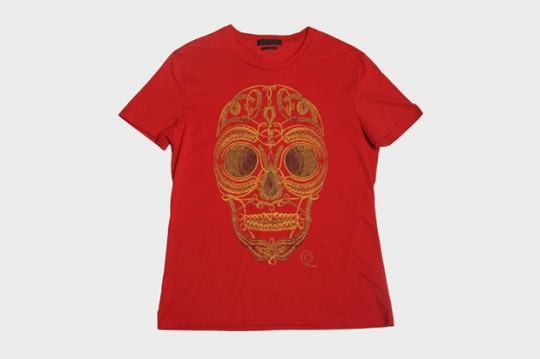 alexander mcqueen 2011 fallwinter skull t shirt collection 2 540x359 - Alexander McQueen Autumn/Winter 2011 release