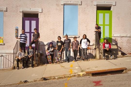 team photo 2011 540x359 - The Tony Hawk Vert Jam