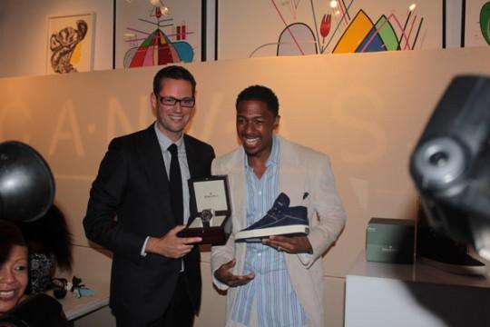Jungle gym Magazine nick cannon 540x360 - Event Recap: Project Canvas Holds Star-Studded Shoe Auction