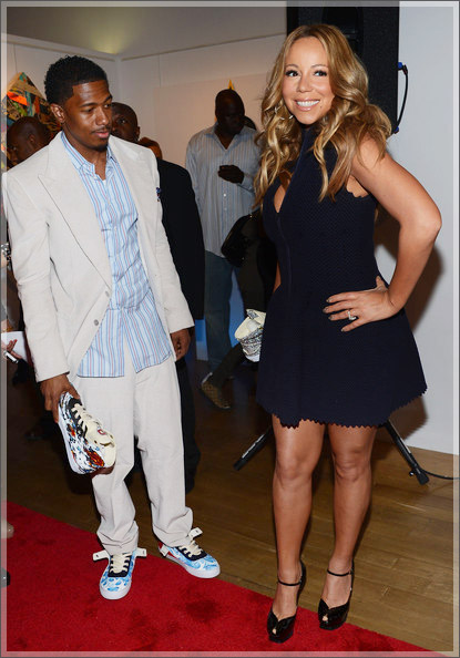 Mariah Carey Project Canvas Charity 2 - Event Recap: Project Canvas Holds Star-Studded Shoe Auction