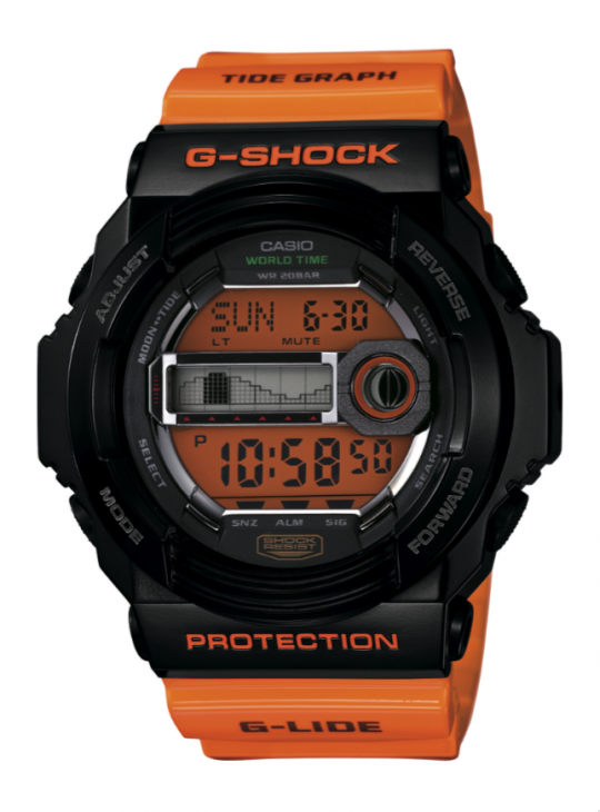 Picture 7 540x730 - G-Shock Unveils Surf Timepeices