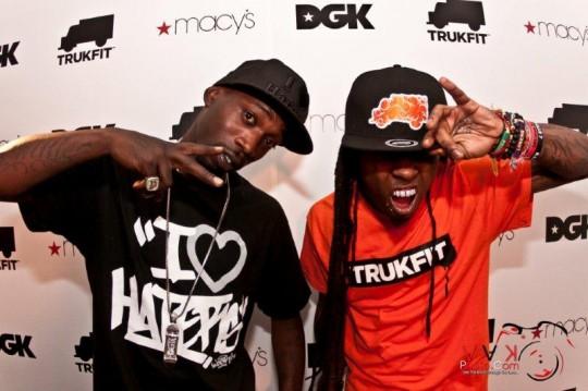 Stevie and Lil Wayne 540x359 - Event Recap: Stevie Williams & Lil' Wayne Unveil New Clothing Lines