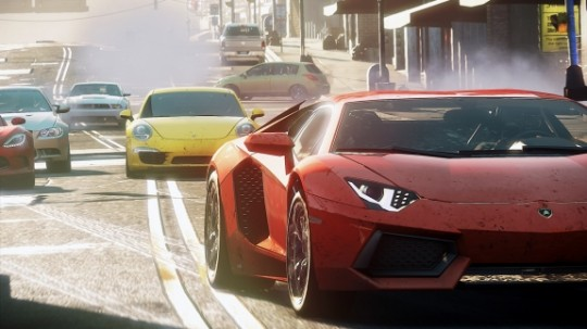 """needforspeedmostwanted 540x303 - EA Unveils Fall Lineup of Games at """"Hot for the Holidays"""""""