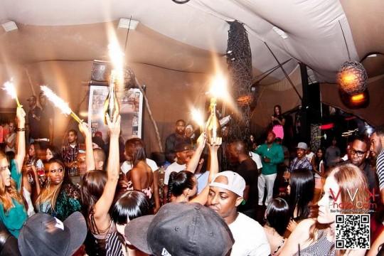 Poppin Bottles 540x360 - Event Recap: Stevie Williams Supra Shoe Release Party