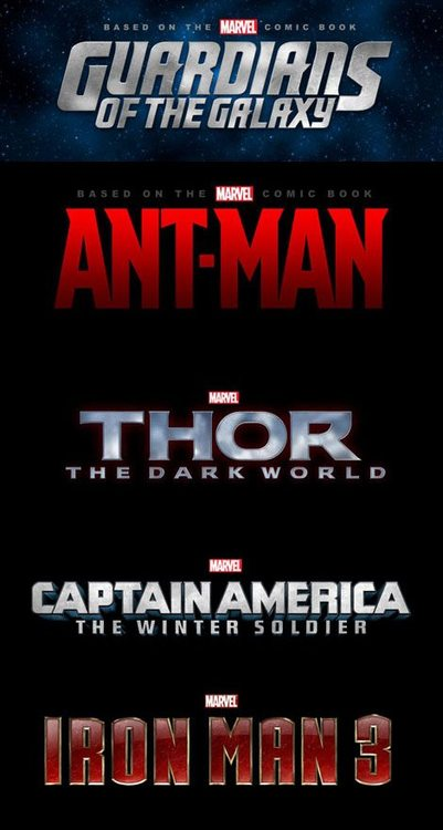 """tumblr m77jhgFzoo1qfxwtoo1 500 - Iron Man 3, Thor 2 & More Announced For Marvel's """"Phase 2"""""""