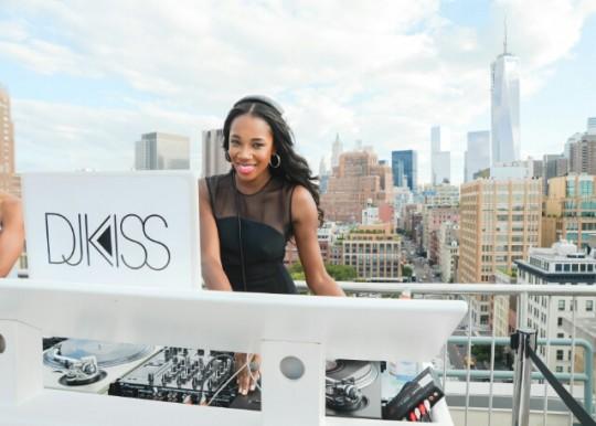 DJ Kiss 20130801050515913 540x386 - Event Recap: David Yurman Rooftop Soirre