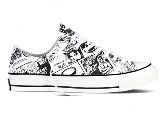 Converse Chuck Taylor All Star 70 Andy Warhol   Newspaper Prints large 540x385 - #STYLEWATCH: Converse x Andy Warhol Limited Edition #Sneaker @Converse @thewarholmuseum