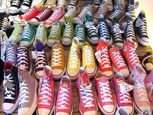 Original Converse All Star Aqua And Pink Color Canvas Shoes Men S Women Sneakers Low Clic Skateboarding In From Sports