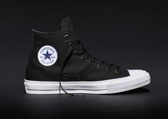 Black hi Chuck II detail 540x385 - #StyleWatch: @Converse Chuck Taylor All Star II #ChuckII #sneakers