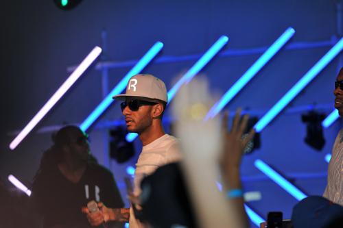 Swizz Beatz on stage 2 - Event Recap: Swizz Beatz/Reethym of Lite Launch Party