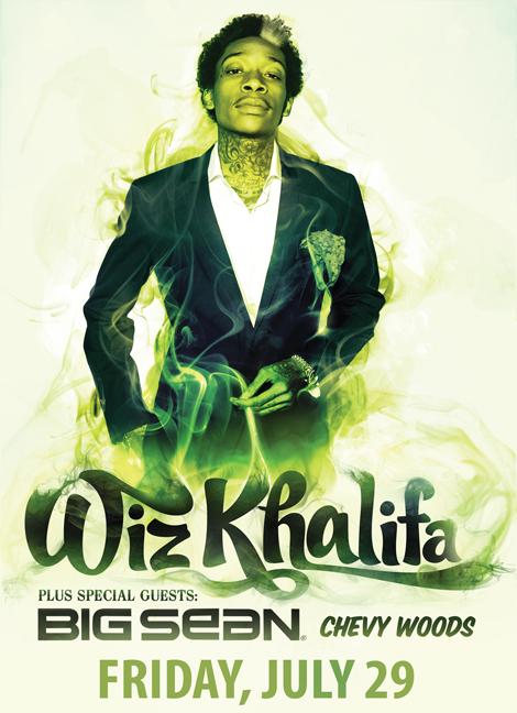 WizKhalifa2 - Wiz Khalifa at Monmouth University