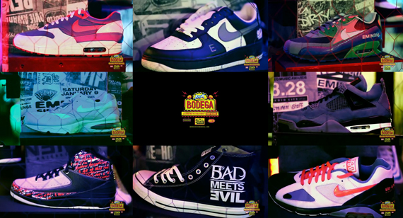 Shady Sneaker Collection on Display at Brisk Bodega | | YRB Magazine
