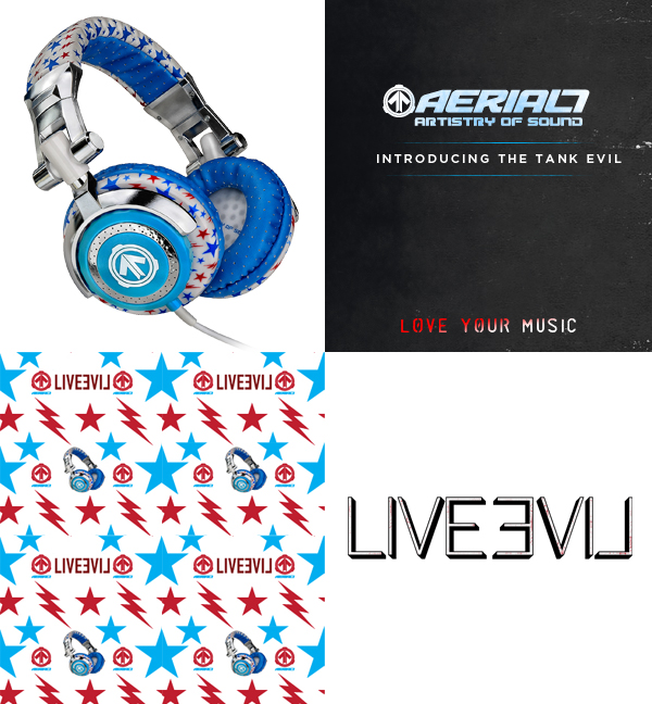 New Product release TankEvil - New TANK EVIL Headphone From AERIAL7