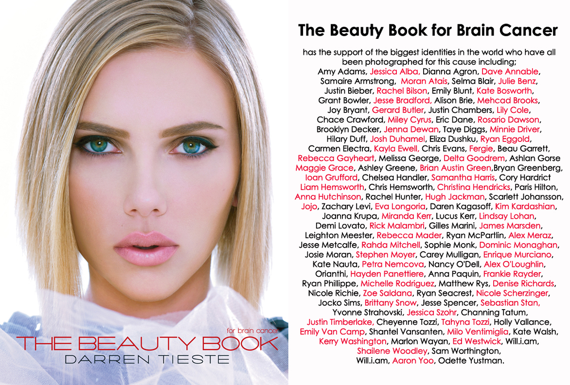 TBB roster - The Beauty Book for Brain Cancer