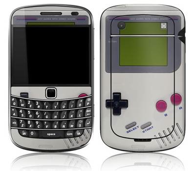 blackberry - BlackBerry Goes Game Boy