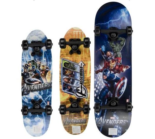 skate - Marvel's Avengers Added To Bravo Sports Skateboard Catalog