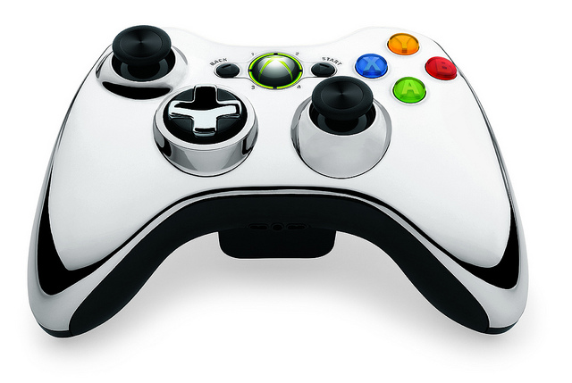 6892907038 7c2447eff4 z - New Xbox 360 Chrome Controllers Coming in May