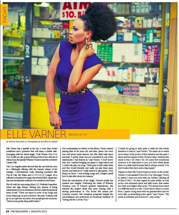 """ElleRadar - Music Video: Elle Varner - """"Refill"""""""
