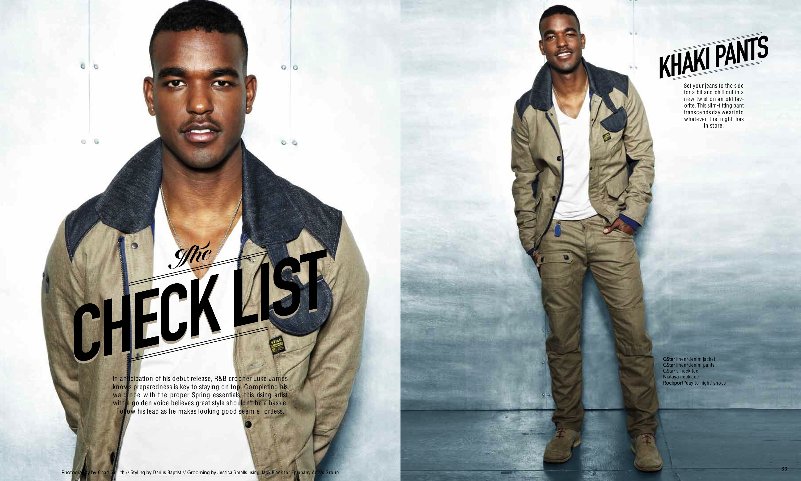 """Style Guide - Video: Luke James - """"I Want You"""""""