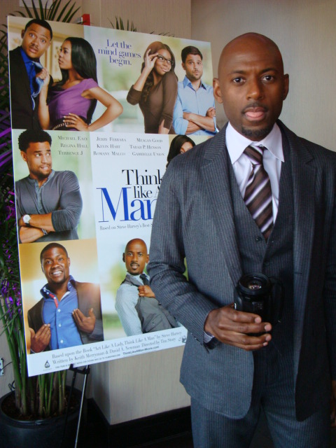"""TLAM Romany Malco at TLAM Press Reception - """"Think Like a Man"""" Makes Promotional Stop in NYC"""