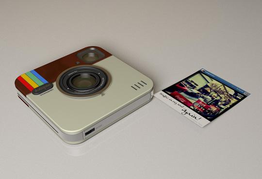 """instagram socialmatic camera 0 - ADR Studio Develops """"Instagram Socialmatic Camera"""" Concept"""