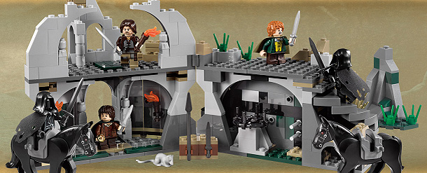 LOTR LEGO 4 - Build Your Own Journey with Lord of the Rings LEGOs