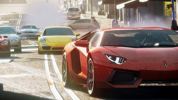 """needforspeedmostwanted - EA Unveils Fall Lineup of Games at """"Hot for the Holidays"""""""