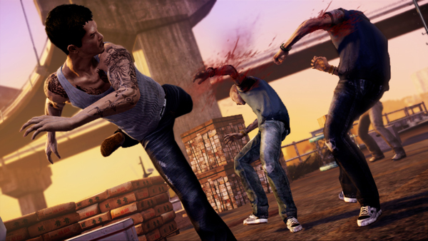 """292420 S - MMA Champion Georges St. Pierre Lends Combat Knowledge To """"Sleeping Dogs"""" Video Game"""