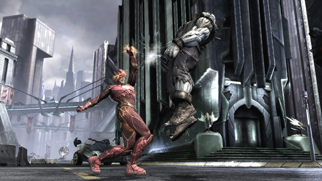 """Injustice Gods Among Us 2 - Watch Superman and Batman Beat People Up in """"Injustice: Gods Among Us"""""""