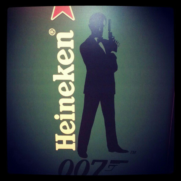 9b15223806c911e28e5722000a1e8abd 7 - @Heineken takes over NYC'S MTA Museum in Celebration of James Bond-Themed Global Campaign #heinekenctc