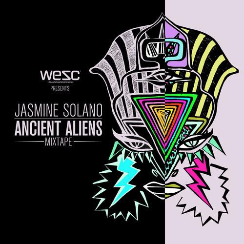 """artworks 000038837699 3bbkvc t500x500 - WeSC x Jasmine Solano """"Ancient Aliens Mixtape"""" @WeSC_USA @JasmineSolano"""