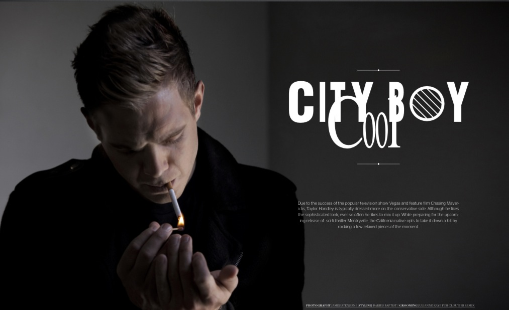 taylorhandley1 - From the Print Magazine: Taylor Handley @taylorlhandley #VEGAS