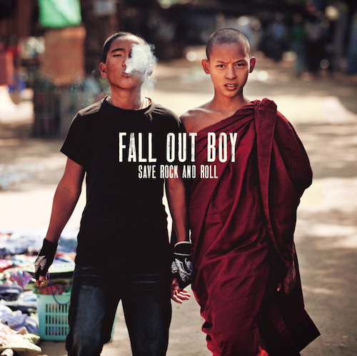 """save rock and roll cover - Fall Out Boy x Big Sean """"The Mighty Fall"""" @falloutboy @BigSean"""