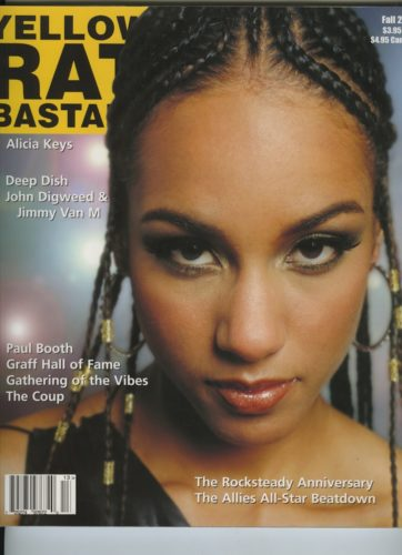 Fall 2001 Alicia Keys 362x500 - Print Magazine Covers 1999-2018
