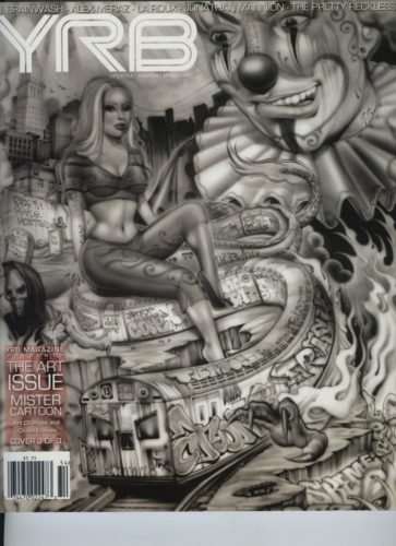Issue 104 Art Issue Mister Cartoon 363x500 - Print Magazine Covers 1999-2017