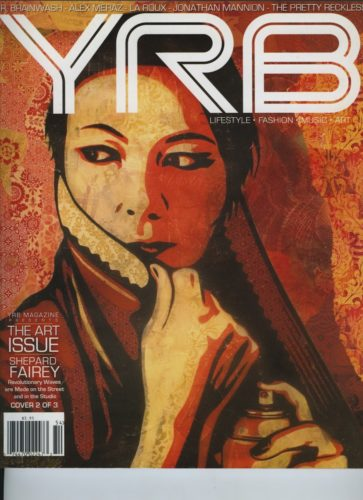 Issue 104 Art Issue Shepard Fairey 363x500 - Print Magazine Covers 1999-2017
