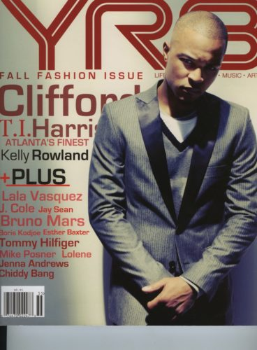 Issue 105 Fall Fashion Issue Clifford T.I. Harris 368x500 - Print Magazine Covers 1999-2017