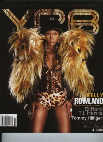 Issue 105 Fall Fashion Issue Kelly Rowland 362x500 - Print Magazine Covers 1999-2018