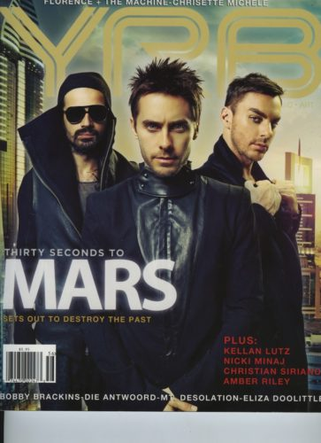 Issue 106 Year In Review Thirty Seconds To Mars 363x500 - Print Magazine Covers 1999-2017