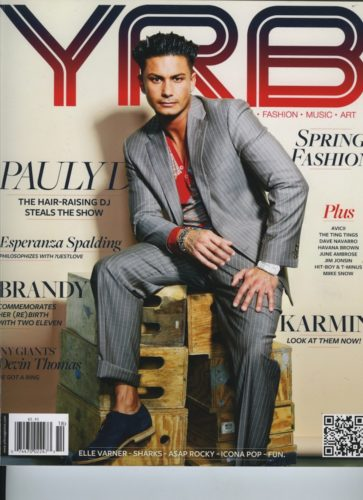 Issue 1062 Fashion  Music Issue Pauly D 363x500 - Print Magazine Covers 1999-2017