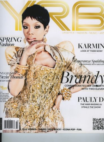 Issue 1602 Fashion   Music Issue Brandy 368x500 - Print Magazine Covers 1999-2017