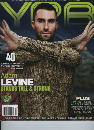 Issue 202 The Eco Issue Adam Levine 363x500 - Print Magazine Covers 1999-2017