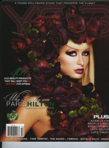Issue 202 The Eco Issue Paris Hilton 368x500 - Print Magazine Covers 1999-2017