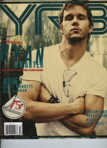 Issue 203 The Travel Issue Ryan Kwanten 362x500 - Print Magazine Covers 1999-2018