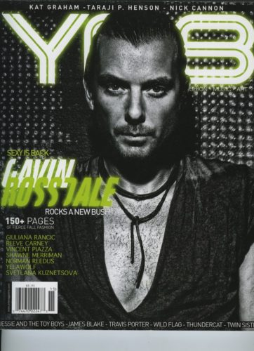 Issue 205 Hollywood Gavin Rossdale 362x500 - Print Magazine Covers 1999-2018