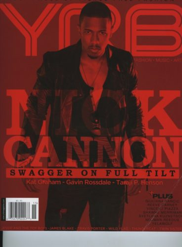 Issue 205 Hollywood Nick Cannon 368x500 - Print Magazine Covers 1999-2018